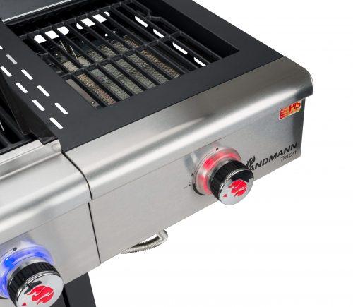 Triton maxX PTS 4.1 (rozsdamentes) gázgrill - 4