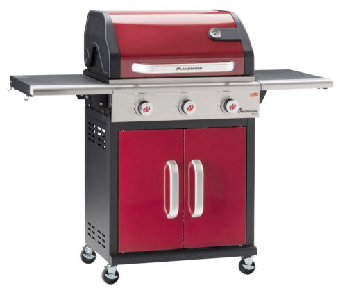 Triton PTS 3.0 (bordó) gázgrill – OUTLET
