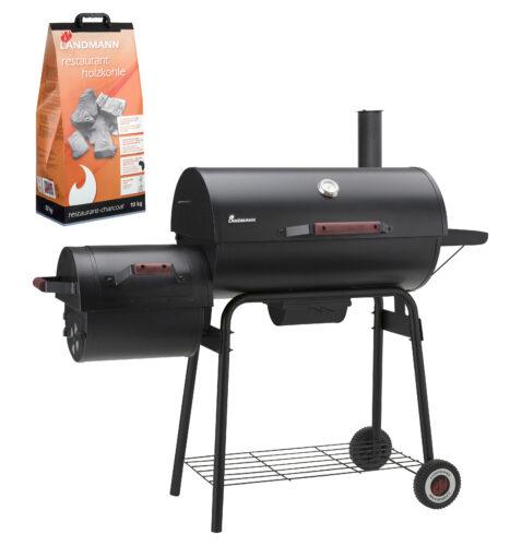 Black Taurus 660+ füstölő, AJÁNDÉK 2 x 3kg Restaurant faszénnel