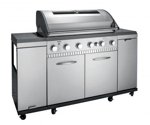 Grill gazowy INOX kuchnia 12120