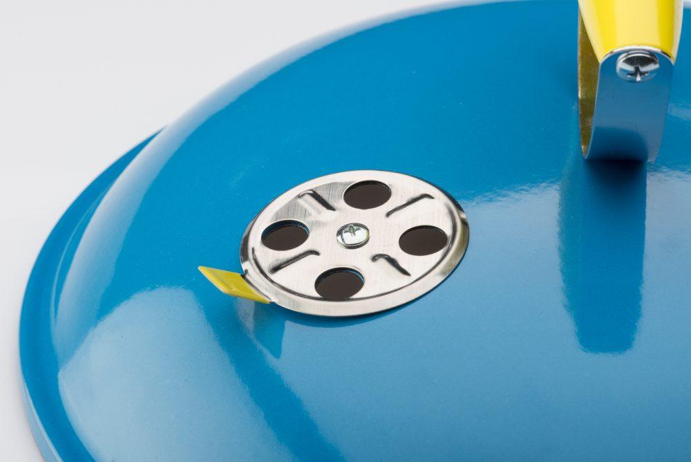 Grill kulisty przenośny PICCOLINO niebieski – 31381