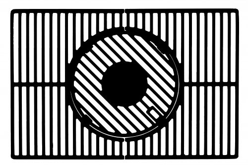 "Ruszt modularny z systemem ""cooking grill"" do grilla TRITON 3.1/4.1 – 15910"
