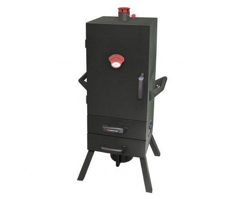 34″ Two Drawer Charcoal Vertical Smoker