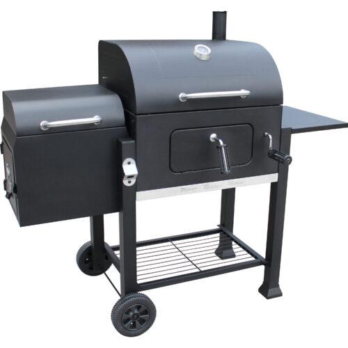 VISTA Charcoal Grill w/ Offset smoker