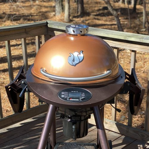 22″ Pellet Kettle – Copper - 21