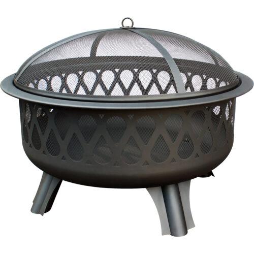 Fireglow Porcelain Fire Pit Landmann Usa