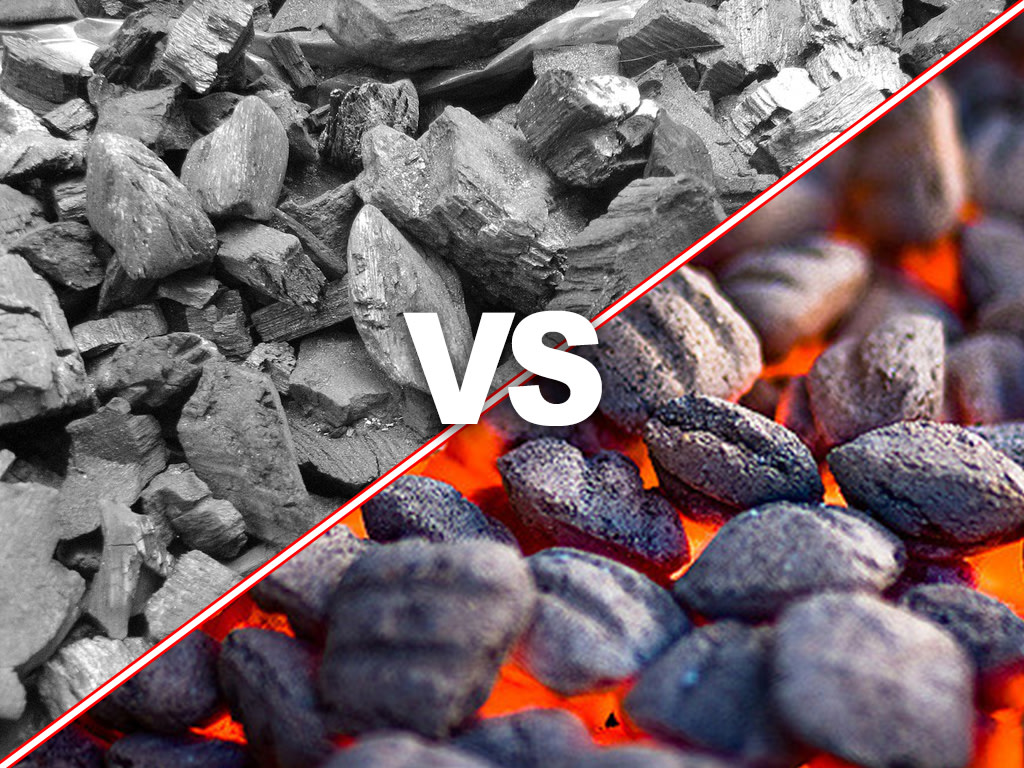 Charcoal vs Charcoal Briquettes: Characteristics and Differences