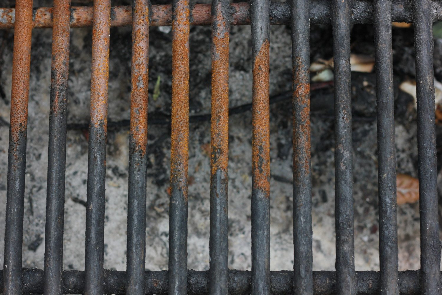 Grill grate: protection and care