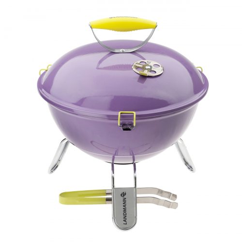 Piccolino Portable Charcoal Barbecue – Lavendel