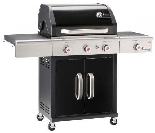 Triton maxX PTS 3.1 Gas Barbecue – Sapphire Black