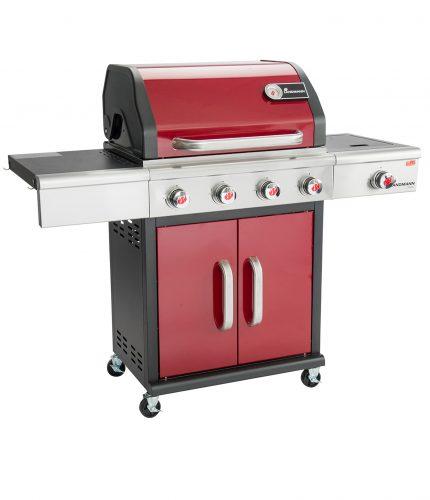 Triton PTS 4.1  Gas Barbecue – Bordeaux Red